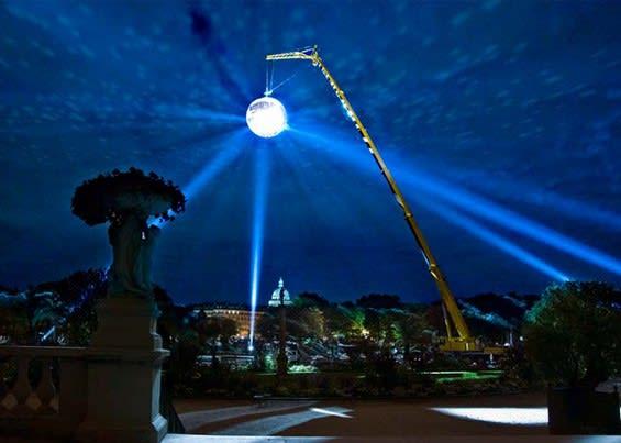 A Gigantic Outdoor Disco Ball / Michel De Broin