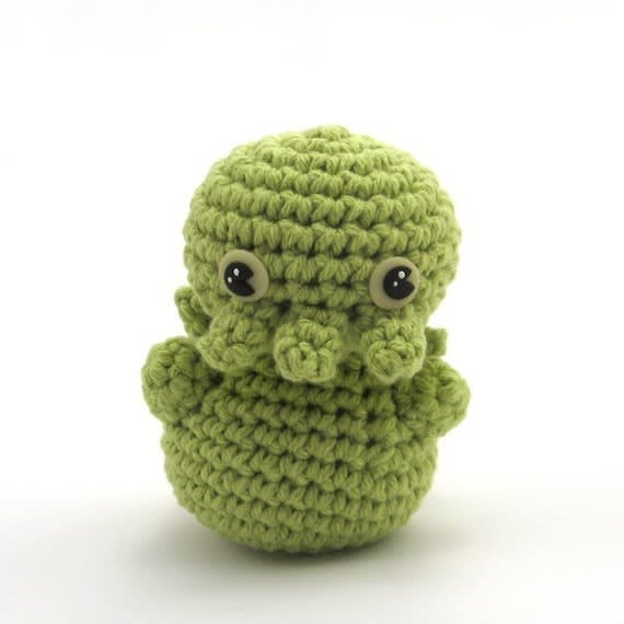 Crocheted Cthulhu / NeedleNoodles