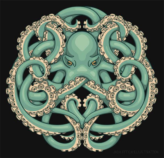 Octopus Emblem / Jada Fitch