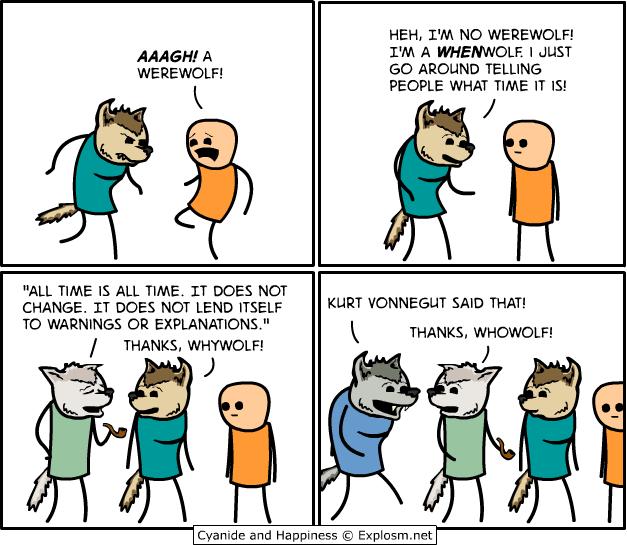 Whenwolf / Cyanide & Happiness