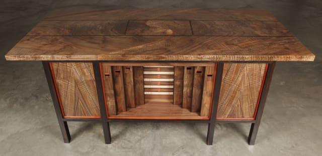 Pipe Organ Desk / Kagen Schaefer