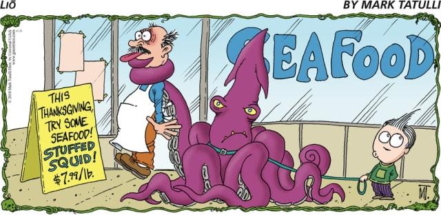 Stuffed Squid / Mark Tatulli