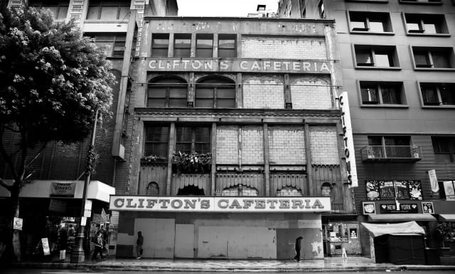Clifton's Cafeteria / moby