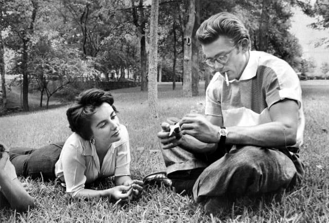 Elizabeth Taylor + James Dean