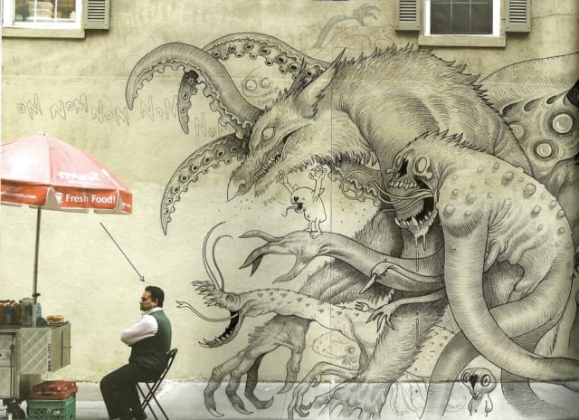 Monster Graffiti / Benjamin Dodds