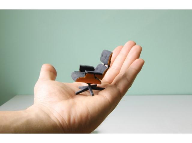 Miniature Eames Lounge Chair / KSpence