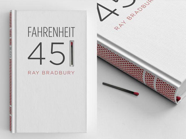 Fahrenheit 451 / Ray Bradbury + Elizabeth Perez