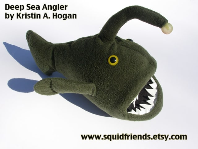 Green Deep Sea Angler / SquidFriends