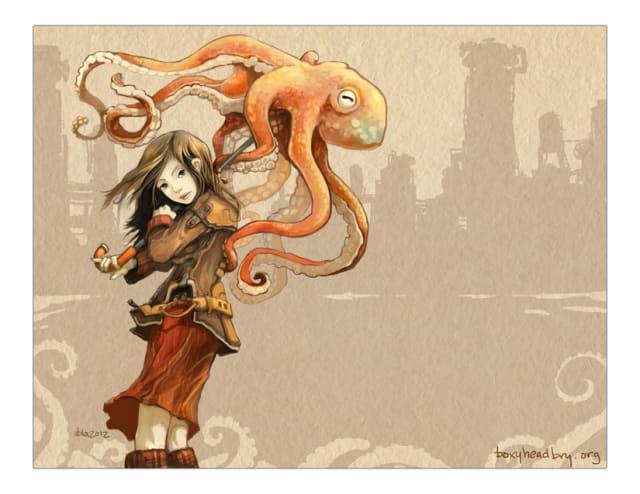 Octopus Umbrella / Bryan L Almeda