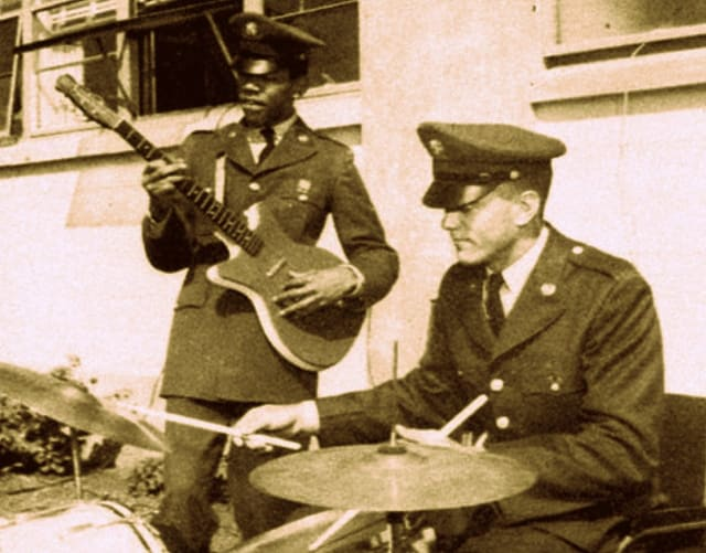 Private James Marshall Hendrix