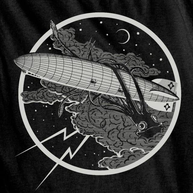 Dark and Stormy Night Squid Tee / Maiden Voyage