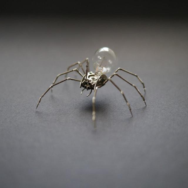Mechanical Spider Sculpture No 26 / A Mechanical Mind