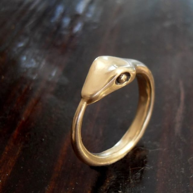 Ouroboros Ring / PocketandSpark