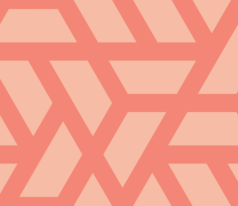 Geometric Pattern: Aperture: Brunch / Red Wolf