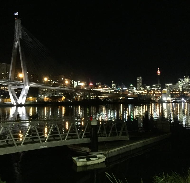 Anzac Bridge + Bellevue Cottage / Red Wolf