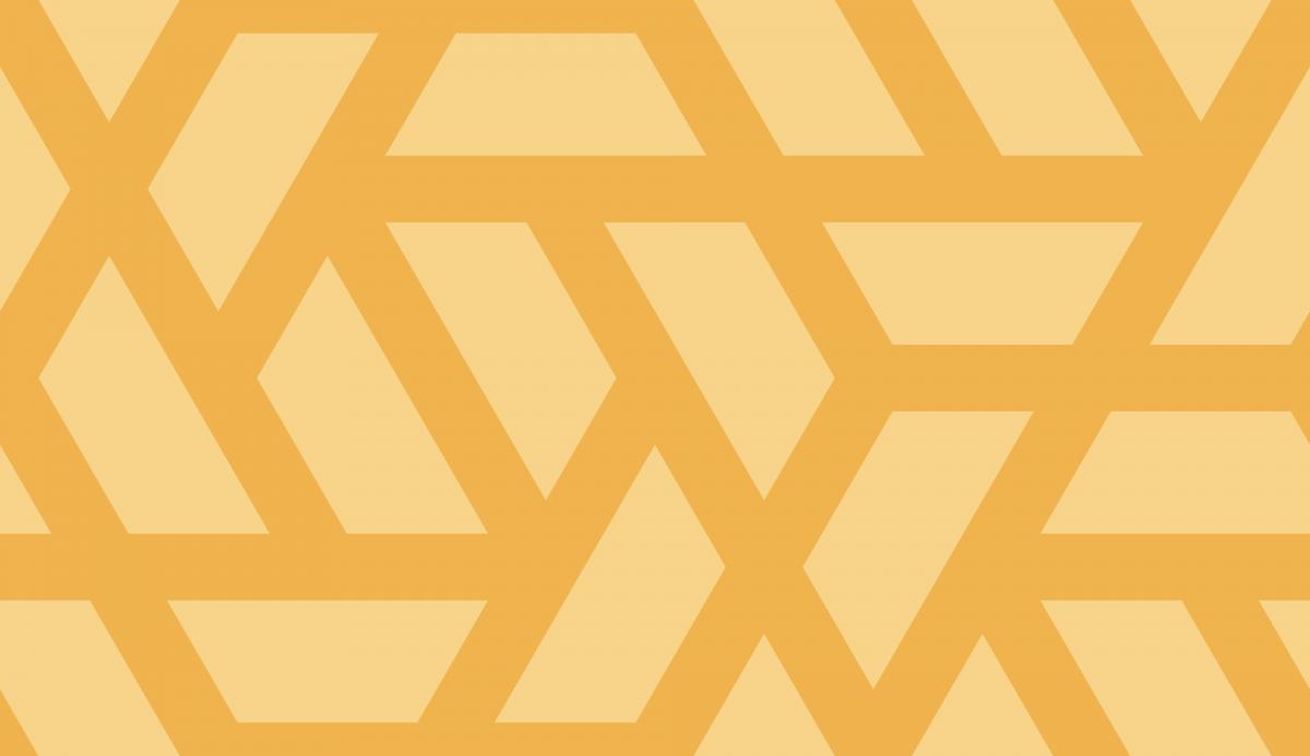 Geometric Pattern: Aperture: Brunch / Red Wolf