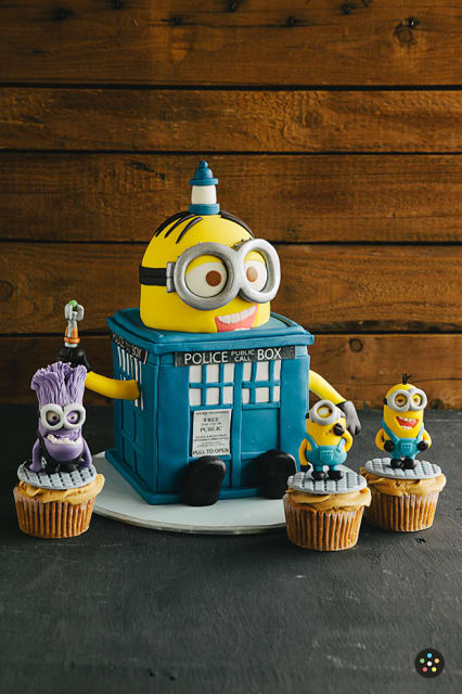 The Minions Have the Phone Box / The Bunny Baker