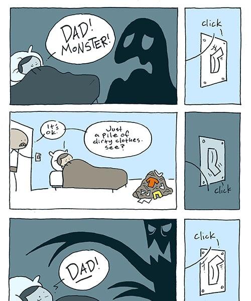Dad! Monster! / John McNamee