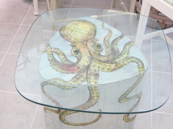 Octopus Table / dapperdoodledesigns
