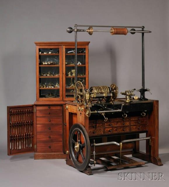Rose Engine Lathe No.1636 / Holtzapffel & Company