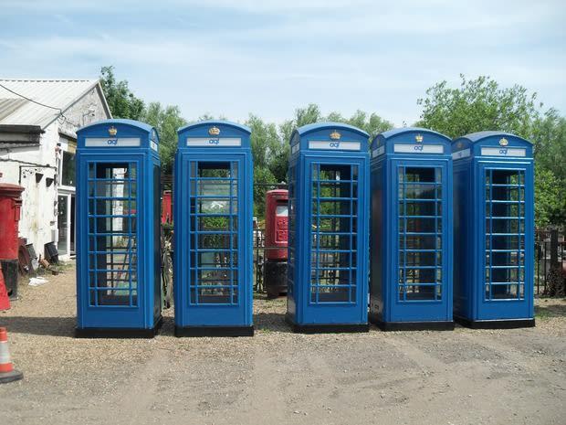 Look, it's the TARDIS!