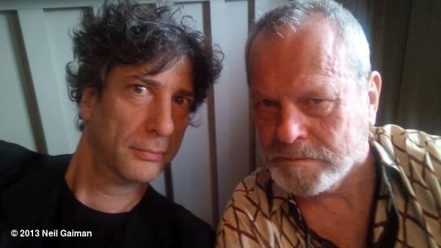 Neil Gaiman + Terry Gilliam