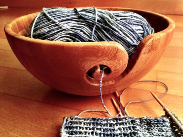 Bamboo Yarn Bowl / dtextor
