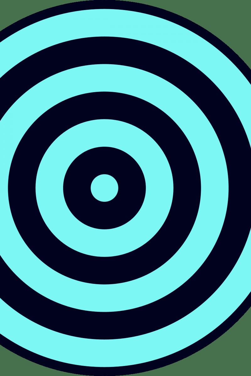 Geometric Pattern: Rondel: Battle / Red Wolf