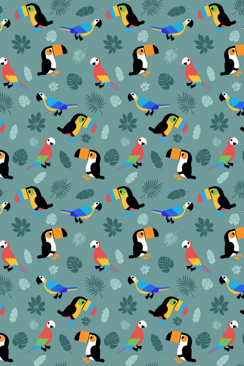 Tropical Bird: Botanica / Red Wolf