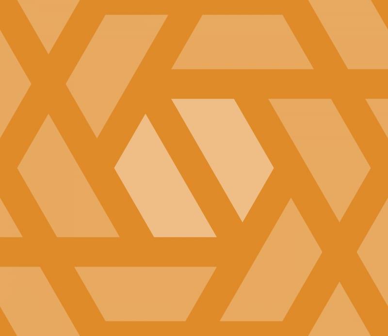 Geometric Pattern: Aperture: Ghost / Red Wolf