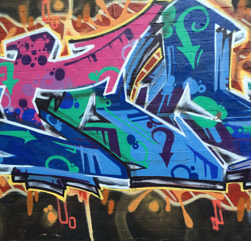 Graffiti / Red Wolf