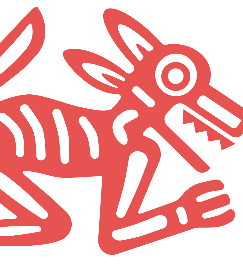 Wolf: North: Rainbow / Red Wolf