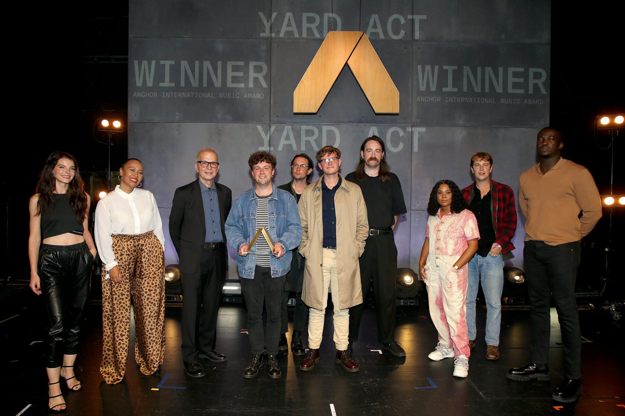 Anchor Award Show 2021 Yard Act Alternative