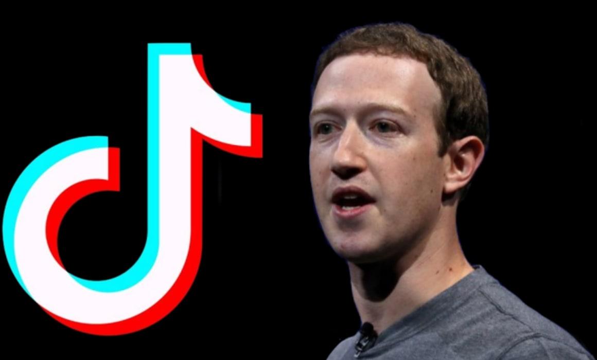 نتيجة بحث الصور عن Mark Zuckerberg + TikTok