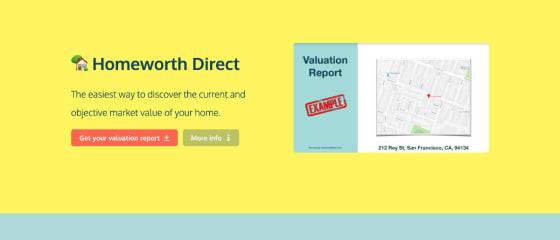 Homeworth Direct (Demo for No-Code MVP)