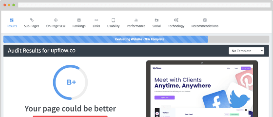 Seoptimer: Website Review and free SEO audit tool. White Label Option.
