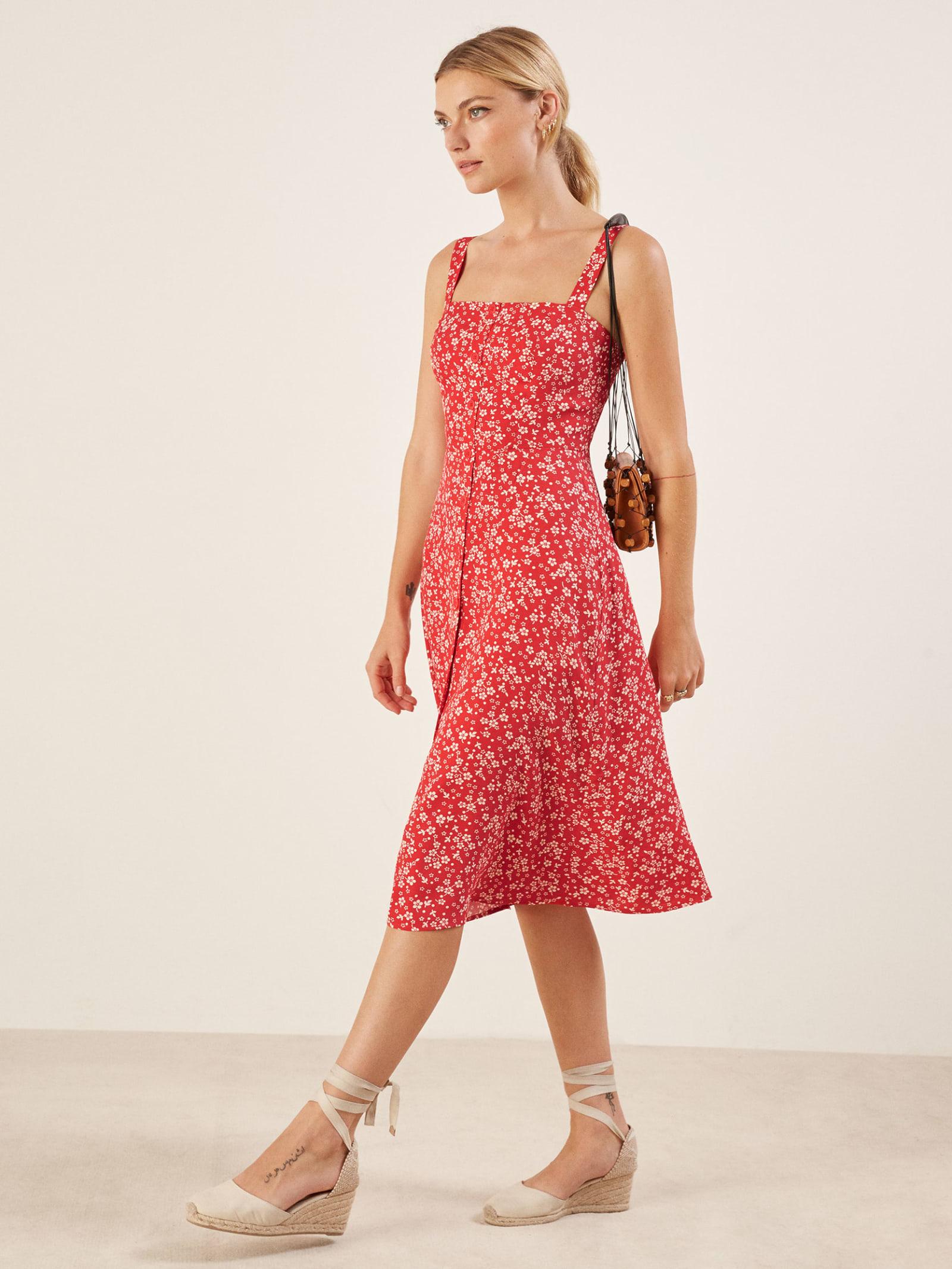 429b747c2c4 Petites Persimmon Dress - Reformation