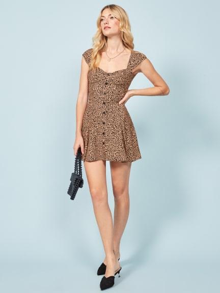 d74391149 Cheri Dress - Reformation
