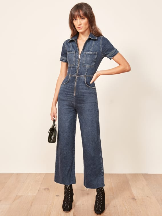 f658d4cd9de0 Georgia Jumpsuit - Reformation