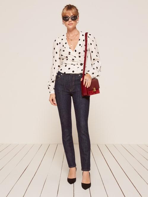 b76948720b5497 Hepburn High Skinny Jean - Reformation