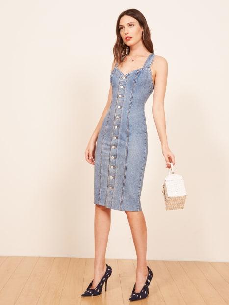 8008fe389b Vintage Ambrea Dress - Reformation