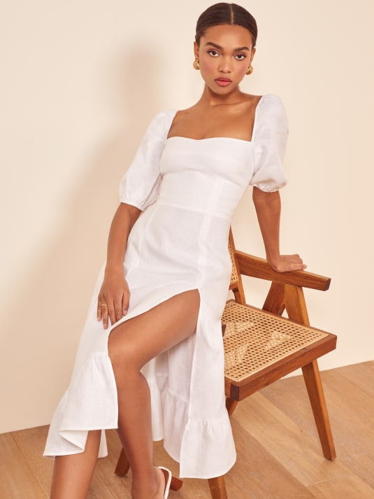 7ec5200d70b48 Linen - Shop Women's Linen Dresses, Tops, and Pants - Reformation