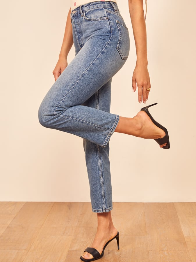 dd3304421951bf Shop Reformation Jeans - Cropped - Shop Reformation Cropped Jeans ...