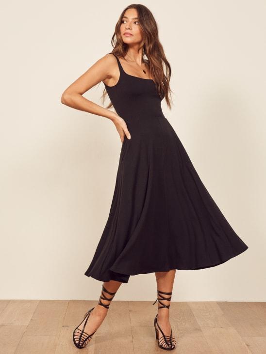 66b7b7dfe80 Black Mary Dress. Quick add. Name Black Color Black Print Solid. Black.  Name Emerald Color Green ...