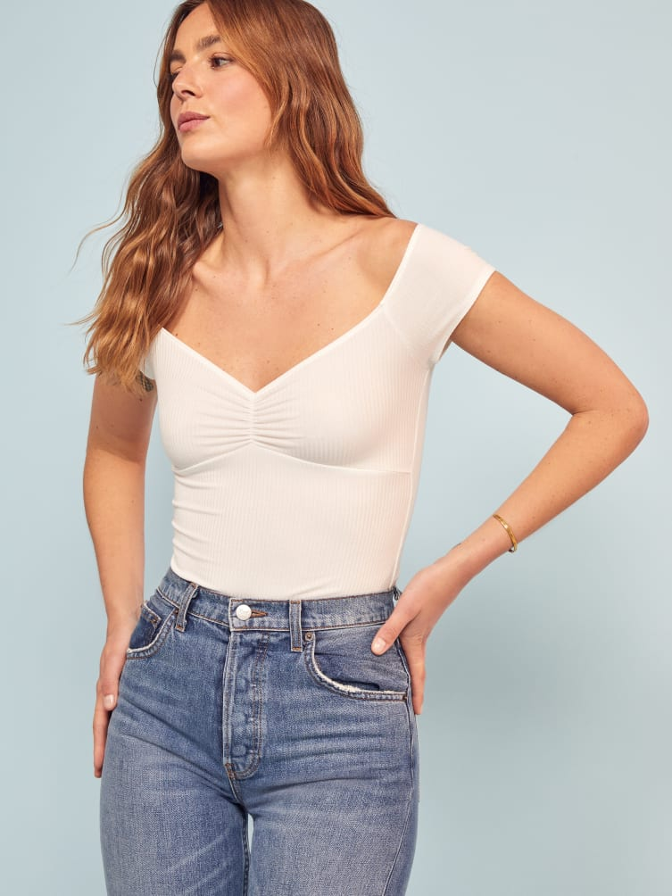 8114a9aec8d Arabella Top - Reformation