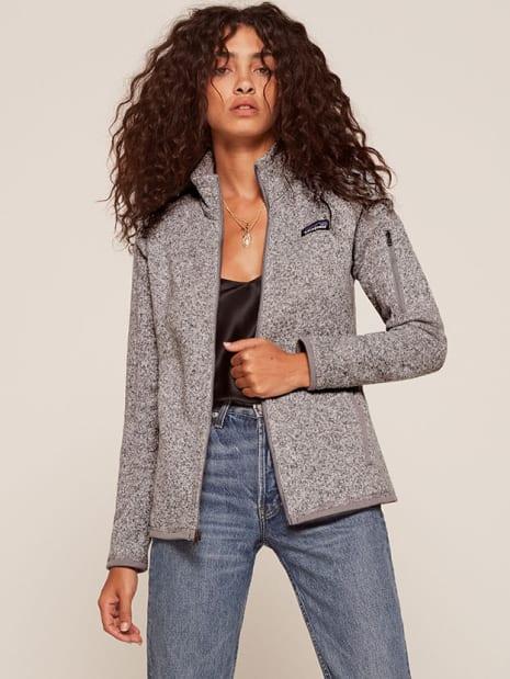 Patagonia Womens Better Sweater Fleece Jacket Reformation