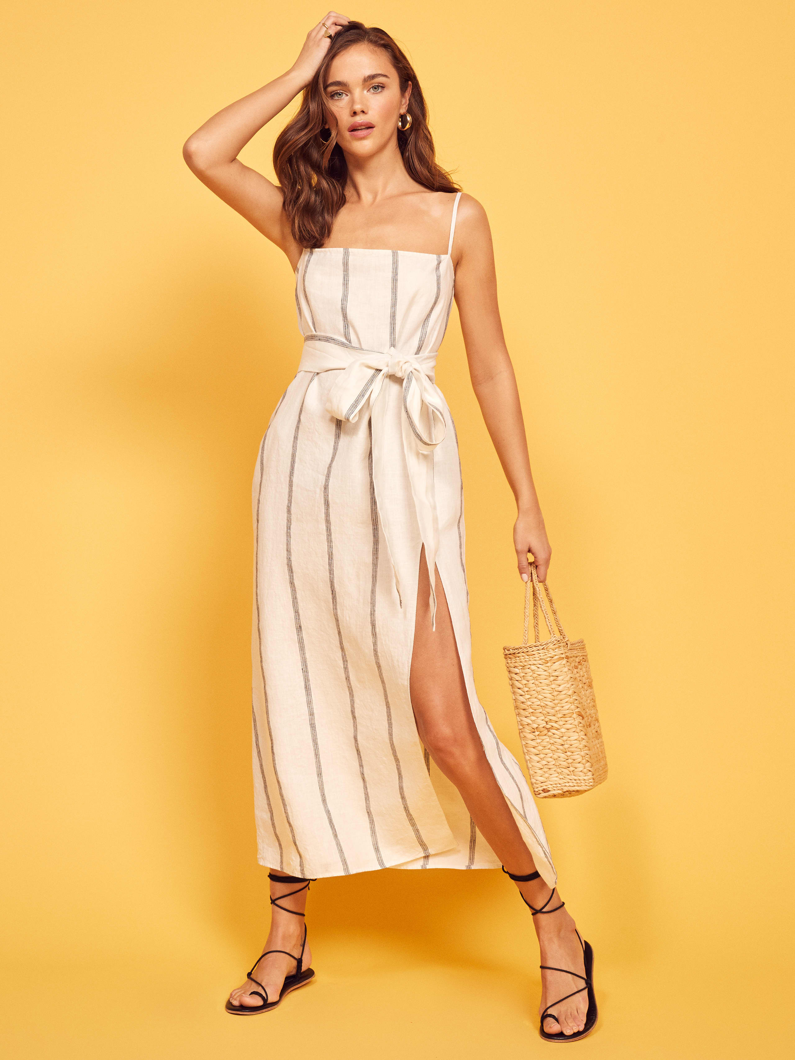 ab1724832a Pineapple Dress - Reformation