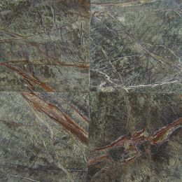 Rainforest green marble supplier