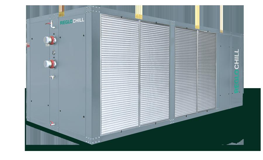 RC1E - Refrigeratori d'acqua con condensazione ad aria da 30 a 1500 kW - Reglochill