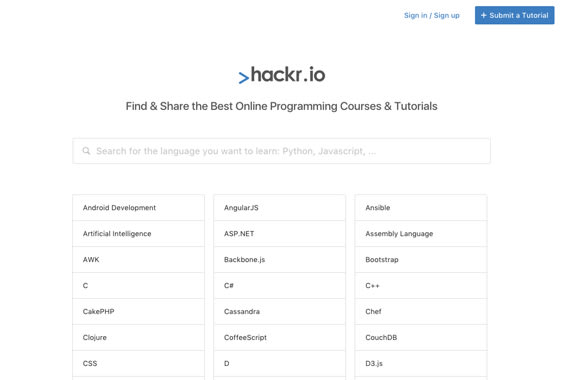 hackr.io